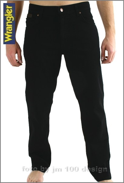 Texas black Wrangler Jeans Stretch W35 L30