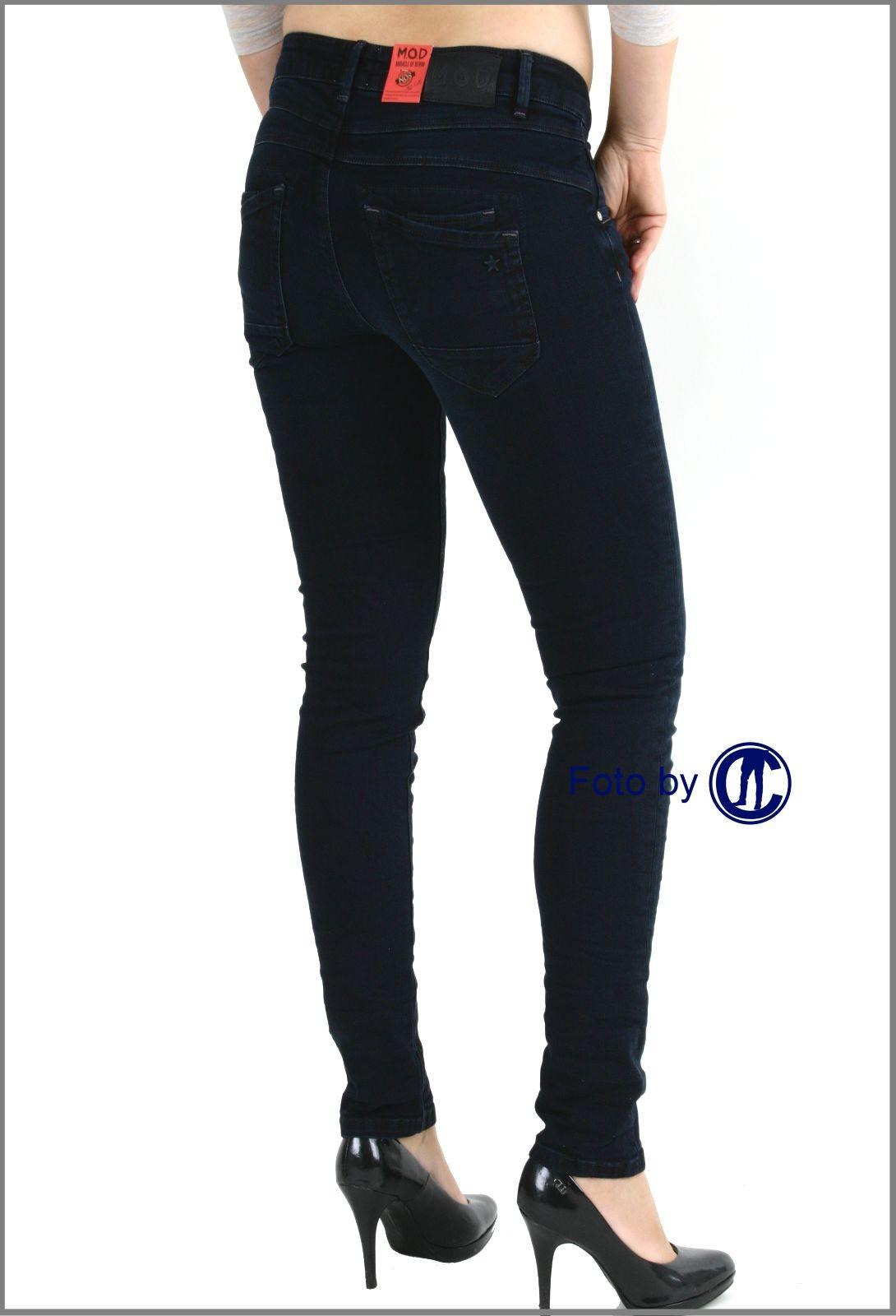 7a6a5a7e0000 ... Jeans von M.O.D. Ulla Slim Fit blue-black ...