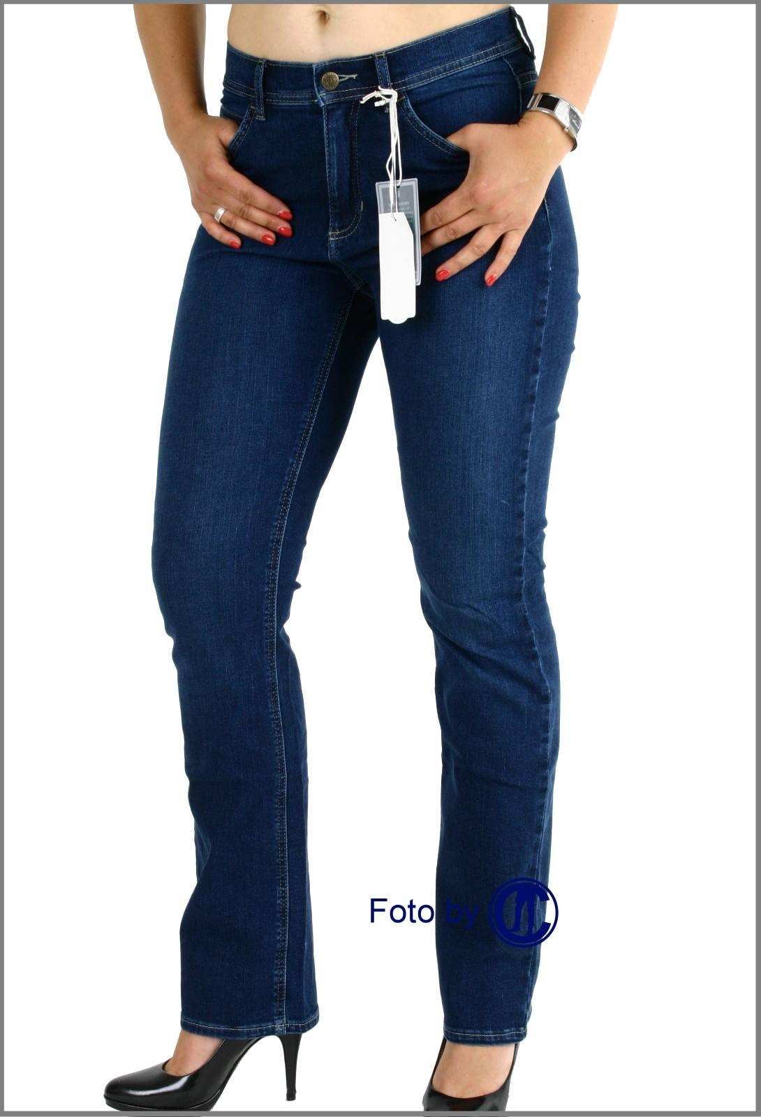 paddocks paddocks jeans damenjeans von paddocks kate in blue black slim fit konfektion gr 36. Black Bedroom Furniture Sets. Home Design Ideas