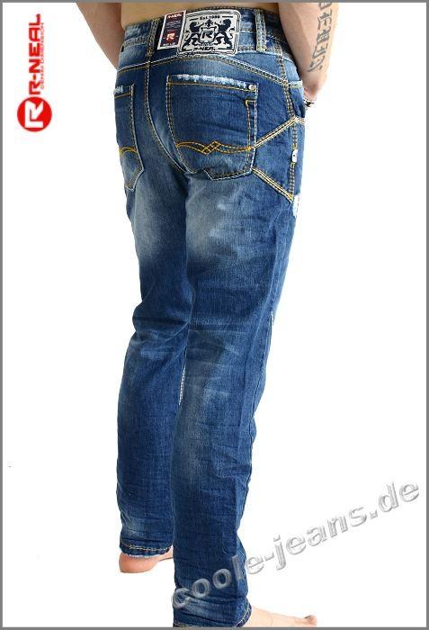 rusty neal rusty neal jeans 7515 herrenjeans gelb weisse. Black Bedroom Furniture Sets. Home Design Ideas