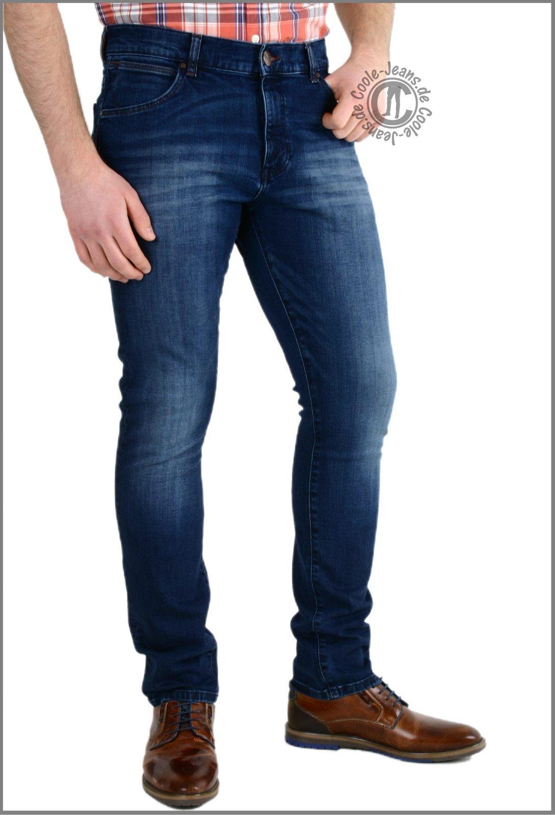 ... W18s8282t Wrangler Jeans Larston slim, Blaze, ...