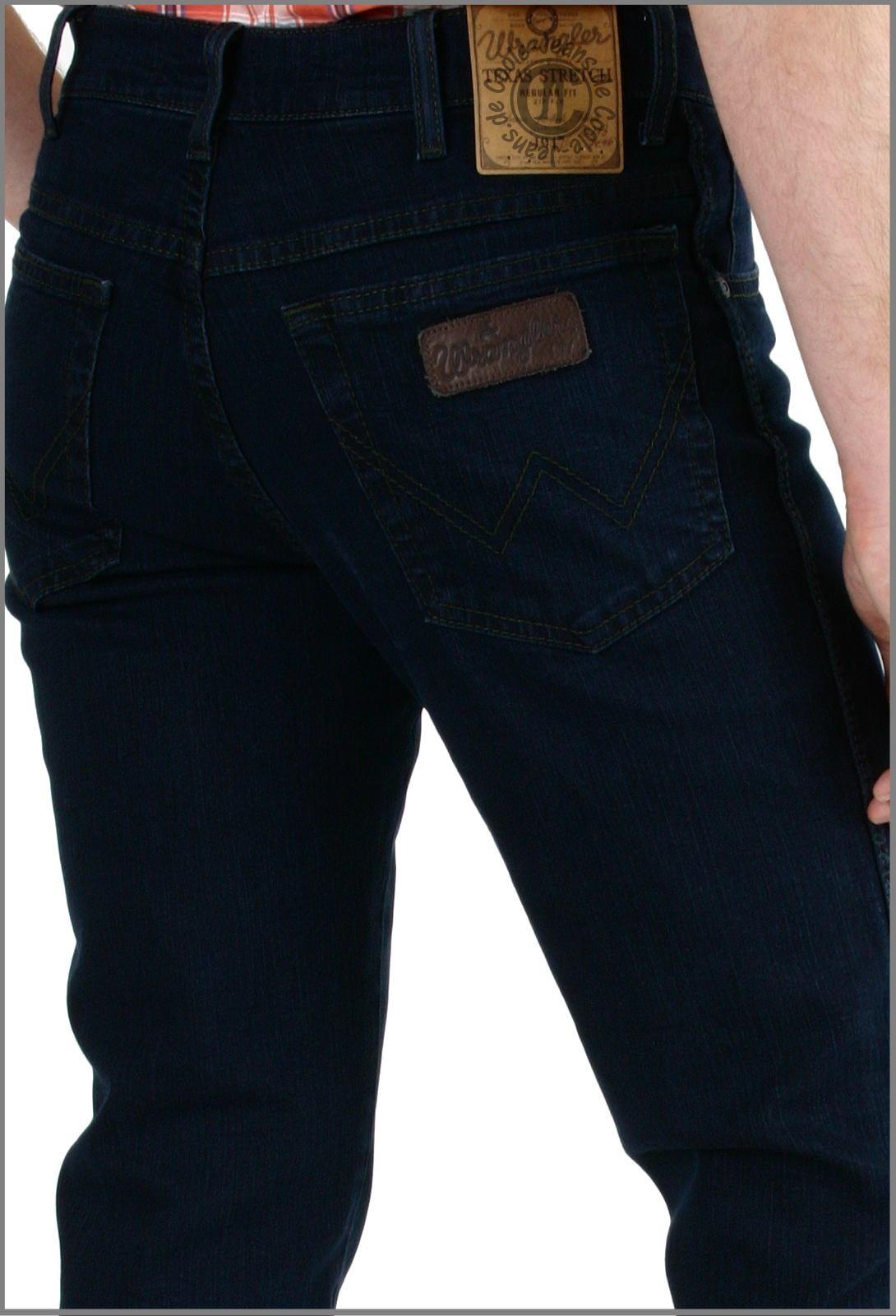 neuer Stil 23cbb a9a34 Wrangler Texas blue black Stretch Wrangler stretch Jeans