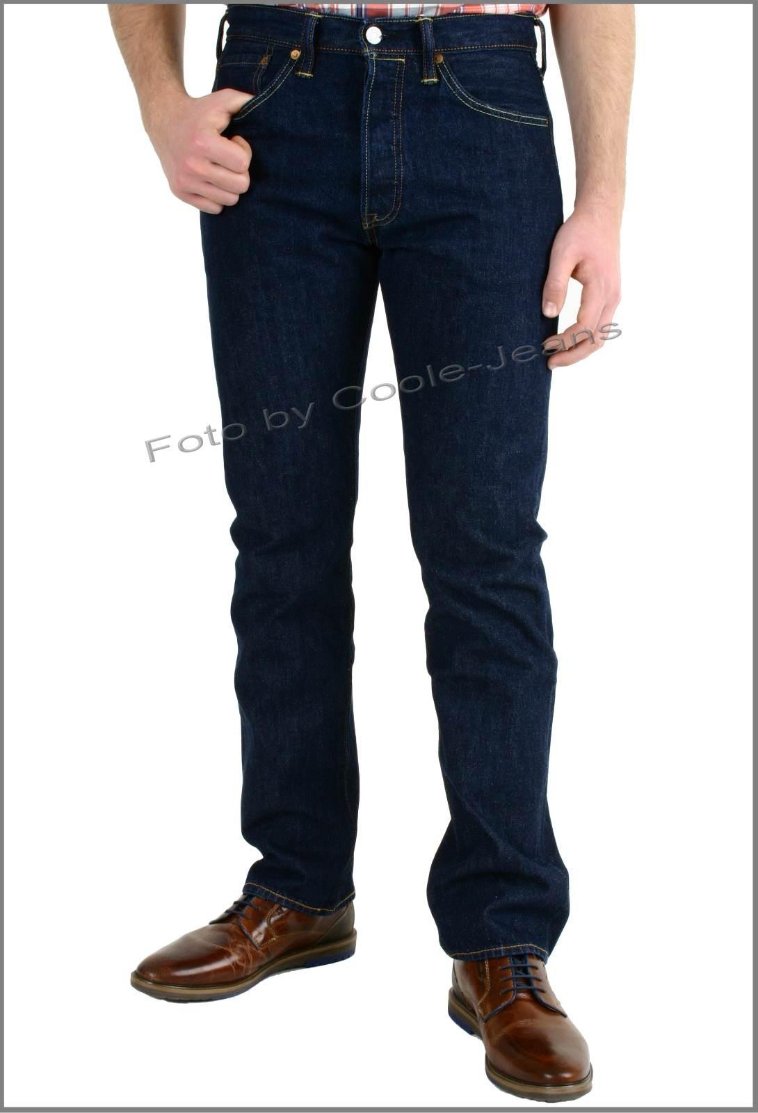levi s herren jeans 501 original straight fit w34 l34 blau one wash 0101. Black Bedroom Furniture Sets. Home Design Ideas