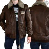 Herrenjacke-Lederjacke - PME-Legend Greenville...