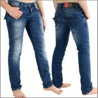 MOD Jeans Christoph, Herrenjeans in Waschung Ocean Blue