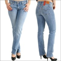 Levis®, Damenjeans, 714 Straight, 21834-0038 Great Skies