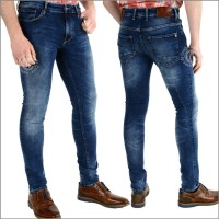 Jeans von Cup of Joe Denim, Patrick Slim cobalt