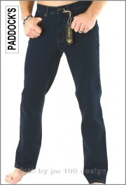 Paddocks Jeans, Ranger in Blue-Black, Herrenjeans