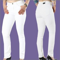 Wrangler Damenjeans High Rise Slim White