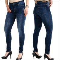 Damenjeans Cup of Joe Denim Sophia SKINNY Dark vintage blue