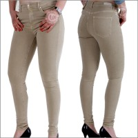 Damenjeans Cup of Joe Denim Sophia SUPER SKINNY sand