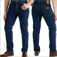 Wrangler Texas Jeans in Darkstone, Stretch-Herrenjeans