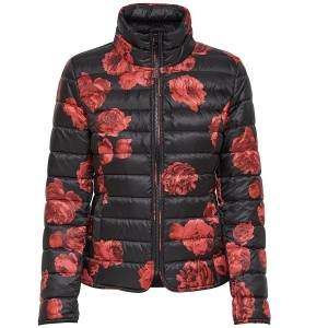 Damenjacke von ONLY Tahoe AOP Red Flowers