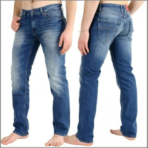 Jeans von M.O.D. Oskar Regular-Herrenjeans in Ocean blue