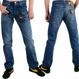 Levis® Jeans 501® Fit bubbles, Stretch 00501®2700 L34 W31