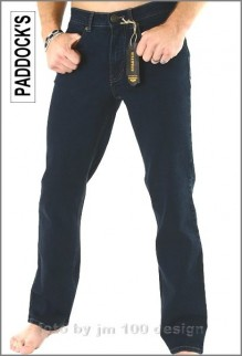 Paddocks Jeans, Ranger in Blue-Black Tinted, Herrenjeans W40 L30