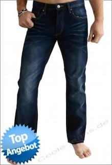 Rick von Jack & Jones Jeans AT217, Herrenjeans, Standat Fit W32 L34
