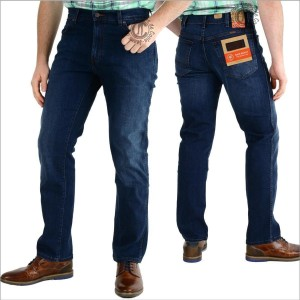 Wrangler Jeans Texas Stretch w1215166e Classic blues W44 L34