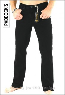 Paddocks Jeans, Ranger in black, Herrenjeans  W46 L34