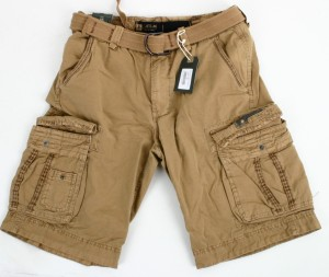Jet Lag Cargo Shorts take off 8 W33 beige